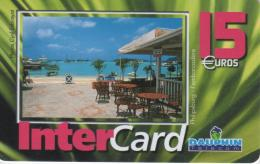 ANTILLES FRANCAISES-INTERCARD DAUPHIN TELECOM 15€-PHILIPSBURG L'EMBARCADERE-3000EX - Antilles (French)