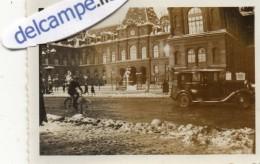 PHOTO  VERITABLE -   LE  HAVRE  (76)    La Neige Au Havre - 16 Janvier 1933  -  Voiture Ancienne - Lieux