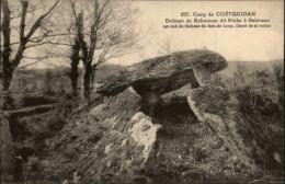 DOLMEN - MENHIRS - COETQUIDAN - Dolmen & Menhirs