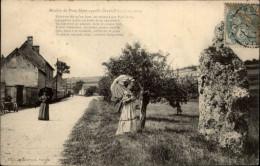 DOLMEN - MENHIRS - Menhir De PORT-MORT - Gargantua - Dolmen & Menhirs