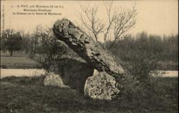 DOLMEN - MENHIRS - SAINT-PIAT - Dolmen & Menhirs