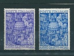 1950  ANNO SANTO  Serie Completa  NUOVO - 1946-60: Nuovi