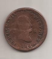 1814 Fernando VII Cobre Moneda - 8 MARAVEDIS JUBIA VC 20,00 - [ 1] …-1931 : Reino