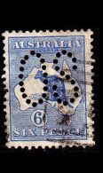 AUSTRALIEN AUSTRALIA [Dienst Lochung] MiNr 0008 I X ( O/used )