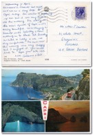 1970 Italia Italien Italy Cartolina Capri Vg X Scozia Postcard Ak - 6. 1946-.. Repubblica