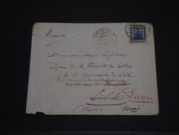 EGYPTE - Env Pour Lille Puis Redirigée Pour Laon - Dec 1920 - A Voir - P19592 - 1915-1921 Protectorat Britannique