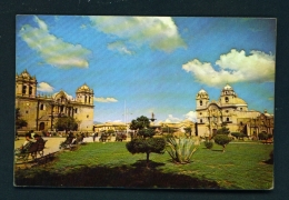 PERU  -  Cusco  Plaza De Armas  Unused Postcard - Peru
