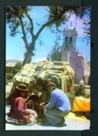 PERU  -  Juliaca  Weavers And Their Goods  Unused Postcard - Peru