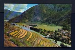 PERU  -  Cusco  Valle Sagrado De Los Incas  Unused Postcard - Peru