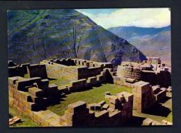 PERU  -  Pisaq  Inca Ruins  Unused Postcard - Peru