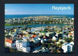 ICELAND  -  Reykjavik  Panorama  Unused Postcard - Iceland