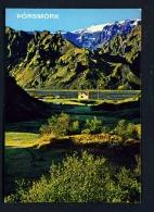 ICELAND  -  Thorsmork  Unused Postcard - Iceland
