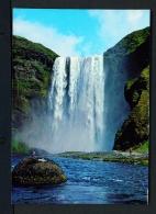 ICELAND  -  Skogafoss  Unused Postcard - Iceland