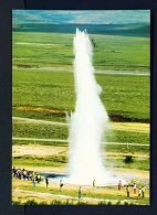 ICELAND  -  Strokkur  The Great Geysir  Unused Postcard - Iceland
