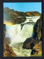 ICELAND  -  Gullfoss  Unused Postcard - Iceland