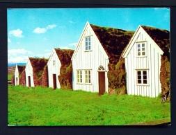 ICELAND  -  Glaumbae  Municipal Museum  Unused Postcard - Iceland