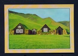 ICELAND  -  Skogar  Regional Museum   Used Postcard - Iceland