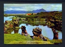 ICELAND  -  Lake Myvatn   Used Postcard - Iceland
