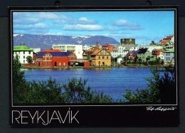 ICELAND  -  Reykjavik  Used Postcard - Iceland