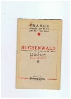 CAMP DE CONCENTRATION  BUCHENWALD   32 PAGES - 1939-45