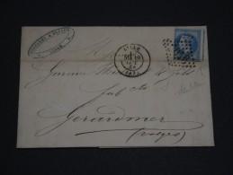 FRANCE - Env Avec N° 29 Et Perforation Décalée Pour Gérardmer - Oct 1968 - A Voir - P19603 - Postmark Collection (Covers)