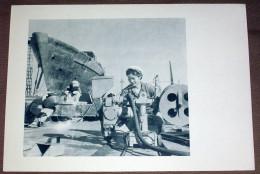 Chine China Chantiers Navals De Dairen - Fiche Avec Héliogravure 1956 , 18X26 Cm - Histoire