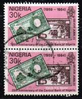 Nigeria 1984, Michel# 437 O 5 Pounds Of 1959 - Nigeria (1961-...)