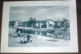 Chine China Cité Ouvrière De Shanghai - Fiche Héliogravure 1956 , 18X26 Cm - Histoire