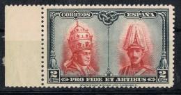 Sello 2 Ctos Pro Catacumbas De San Damaso , Num  402 ** - 1889-1931 Reino: Alfonso XIII