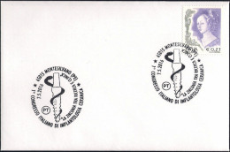 Italia Italy (2016) Ann. Speciale/special Postmark: Montesilvano • Medicina/Medicine (dentistry) • Ceramic Implantology - Medicina