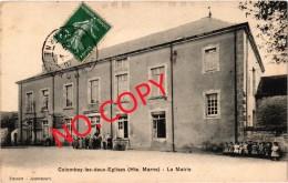 COLOMBEY LES DEUX EGLISES (52) La Mairie - Très Très Rare - Très Belle Carte Postée - Colombey Les Deux Eglises