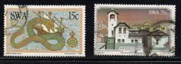 SWA 1981/82, Michel# O Postamt Lüderitz/ Schlange - South Africa (1961-...)
