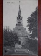 02 - BOUÉ - L'Eglise. (rare) - France