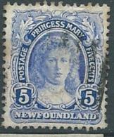 Terre Neuve    - Yvert N°93    Oblitéré    Az21517 - 1908-1947
