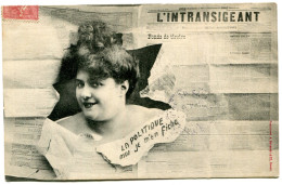 JOURNAL L INTRANSIGEANT(BERGERET) FEMME - Professions