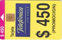 Chile, CHI-TLF-C11, $450, Promocion Nacional, 2 Scans. - Chile