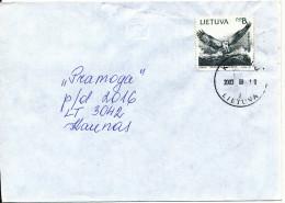 Lithuania Cover Kedainiai 10-3-2003 Single Franked BIRD - Litauen