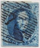 Belgie     OBP     7A             (78)              O                      Gebruikt  /  Oblitéré - 1851-1857 Médaillons (6/8)