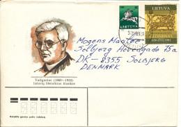 Lithuania Cover Sent To Denmark Mazeikiai 3-1-1994 - Litauen