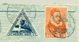 Nederlands Indië - 1933 - Pelikaanvlucht Van Bandoeng Naar Apeldoorn / Nederland - Nederlands-Indië