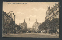 CPA - ANVERS - ANTWERPEN - Avenue De Keyser Et Rue Leys - Tram  // - Antwerpen