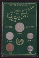 DECIMALE REPUBBLICA DI CIPRO - REPUBLIC OF CYPRUS - ANNO 1974 - ZYPERN - CHYPRE - 100 MILS - 50 MILS - 25 MILS - - Cipro