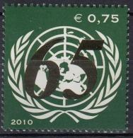Naciones Unidas Viena 2010 Nº 687 Nuevo - Wien - Internationales Zentrum