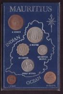 DECIMALE MAURITIUS - OCEAN INDIAN - 1 RUPEE - 10 CENTS - ANNO 1971 - QUARTER RUPEE - HALF RUPEE - - Mauritius
