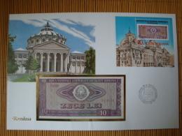 Geldscheinbrief Rumänien 1987, 10 Lei ! - Banknotes