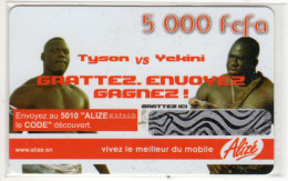 SENEGAL PREPAYEE SONATEL ALIZE 5 000 FCFA - Sénégal