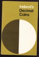 DECIMALE IRLANDA - IRELAND´S DECIMAL COINS - ANNO 1971 - NEW HALF PENNY - FIVE NEW PENCE - NEW PENNY - TEN NEW PENCE - F - Irlanda