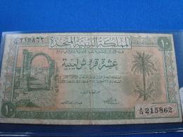 LIBYA - 10 P  NOTE - VF - Banknoten