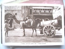 Yemen Jemen Aden Camel Water Cart - Yemen