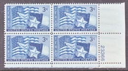 U.S.  938  **   TEXAS  STATE  FLAG - Stamps